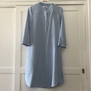 Bcbgeneration size S shirt dress blue